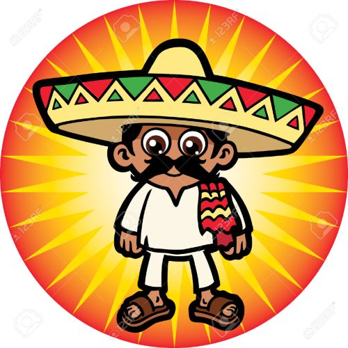 small resolution of 1300x1300 24304976 mexican man stock vector mexican sombrero cartoon jpg