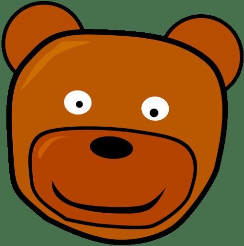 small resolution of 3333x3358 clip art teddybear head teddy clipart panda