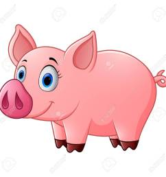 1300x1300 cute baby pig cartoon stock photo picture and royalty free image [ 1300 x 1300 Pixel ]
