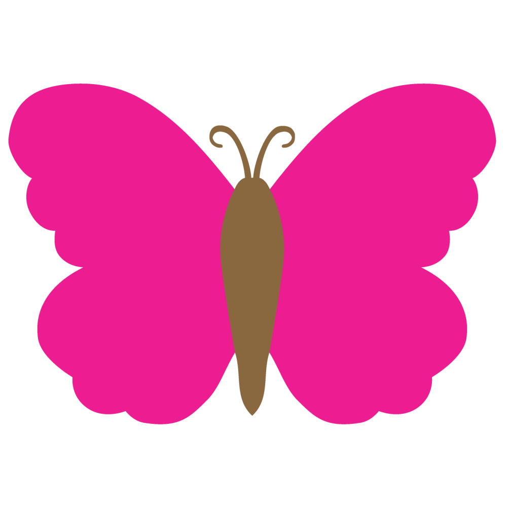 medium resolution of 1560x1560 butterfly clipart solid