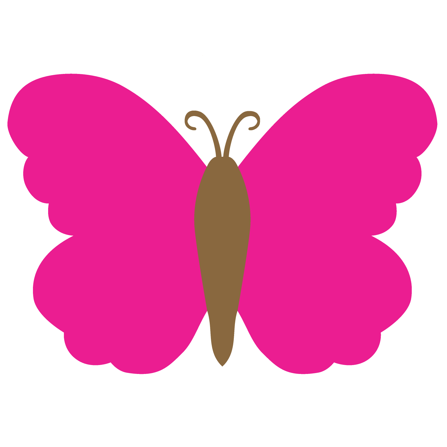 hight resolution of 1560x1560 butterfly clipart solid