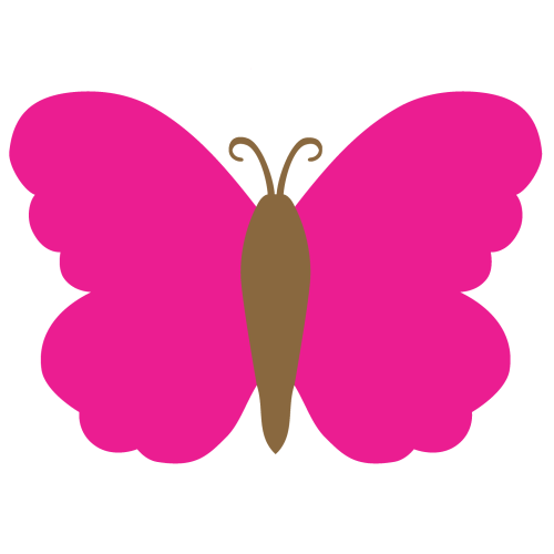small resolution of 1560x1560 butterfly clipart solid