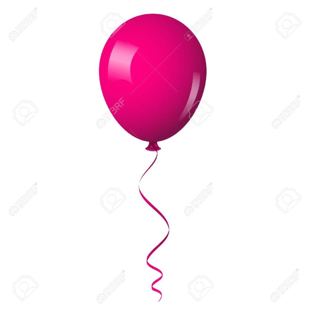 medium resolution of 1300x1300 pink balloon clipart