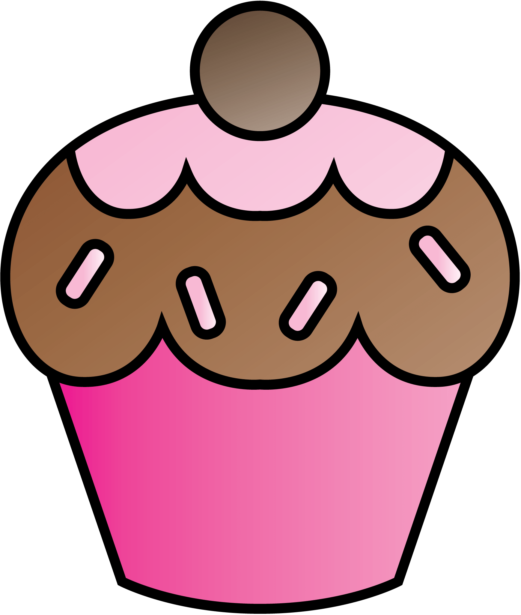 hight resolution of 1738x2050 cupcake art on clip art cupcake and pink cupcakes 2 clipartcow