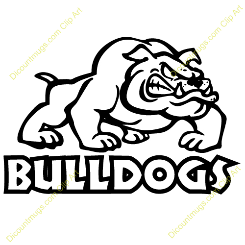 Royalty Free Stock Designs Of Bulldogs