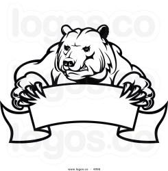 bear clipart polar kodiak angry roaring bears standing grizzly drawing roar vector mascot growling clipartpanda banner 20bear clipartmag clipground 20clipart