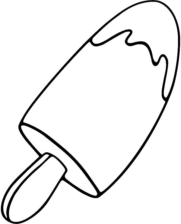 Best Printable Popsicle Coloring Pages Pictures