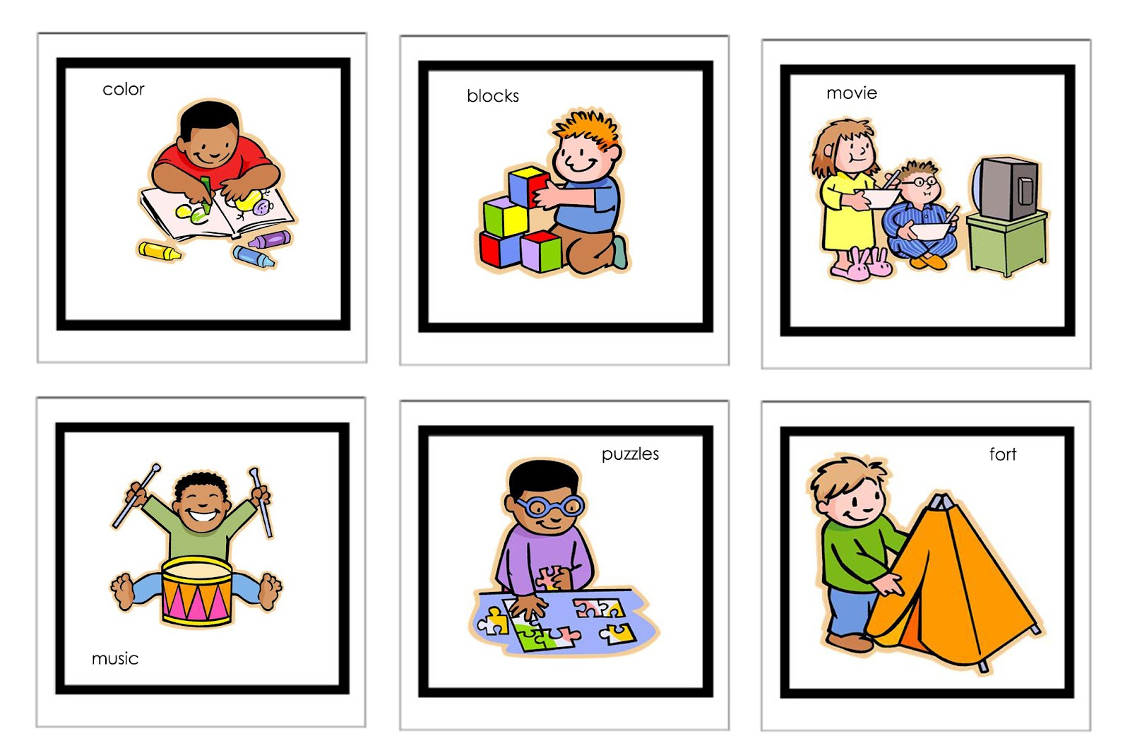 hight resolution of 1600x1066 preschool daily schedule clipart