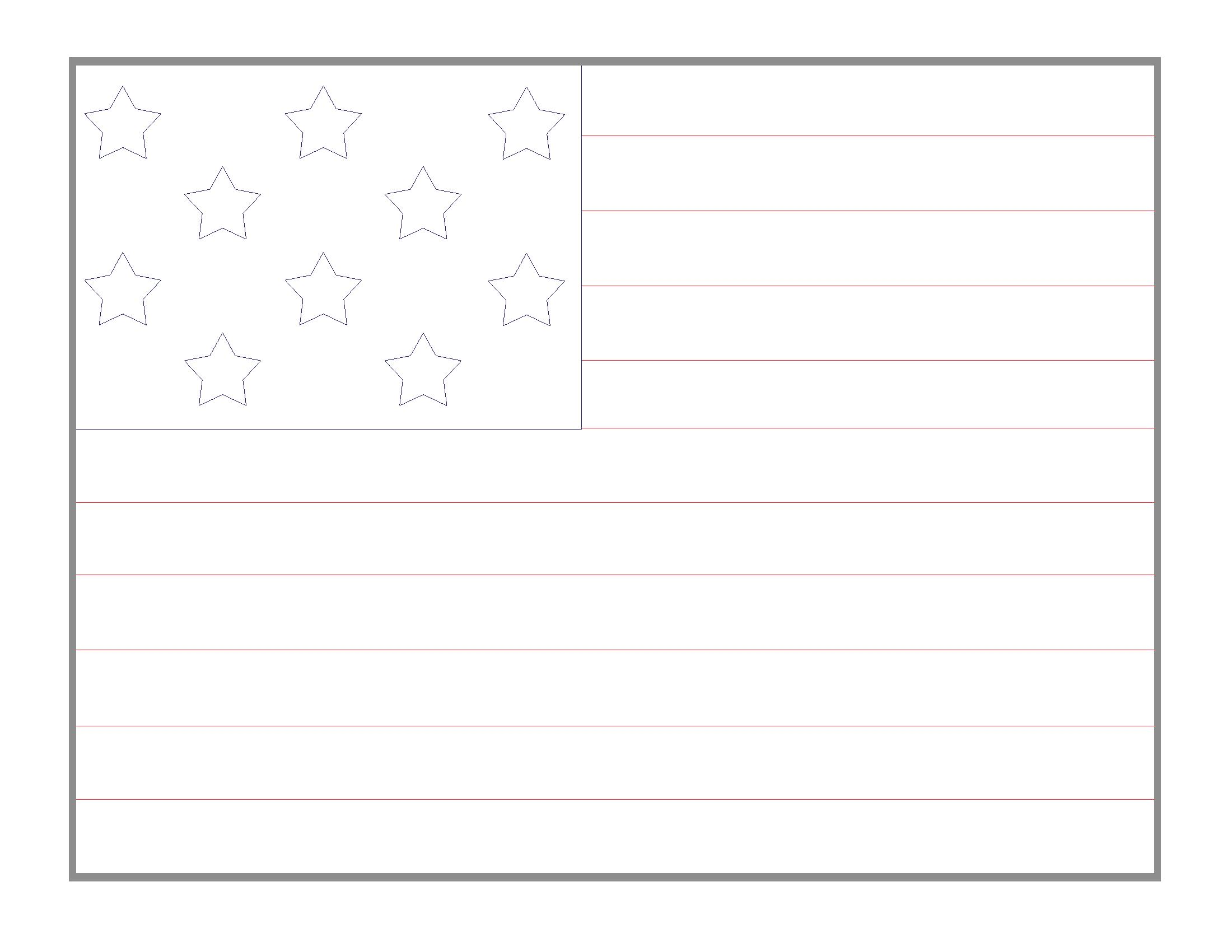 Printable American Flag Images