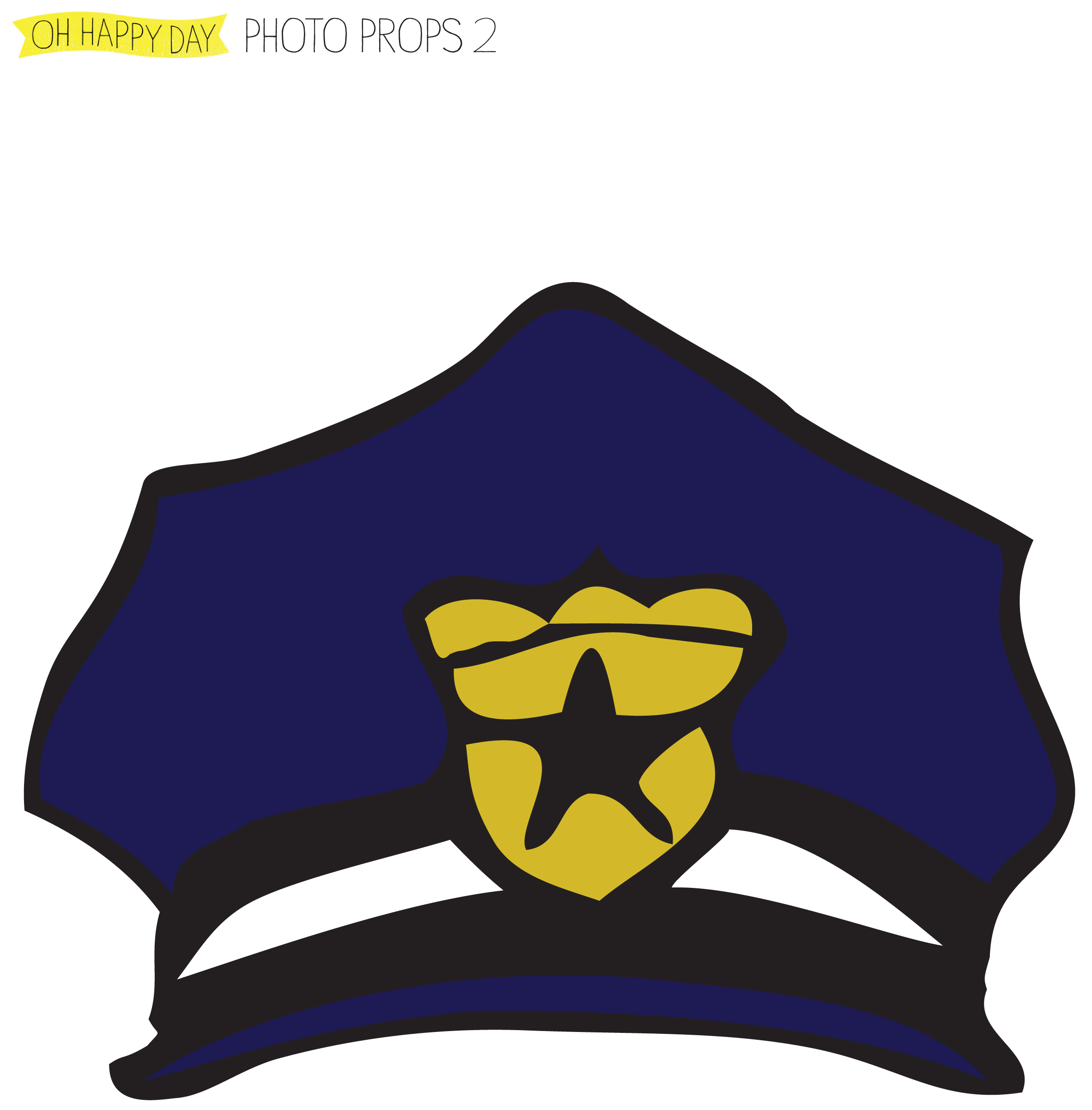 Printable Police Badge