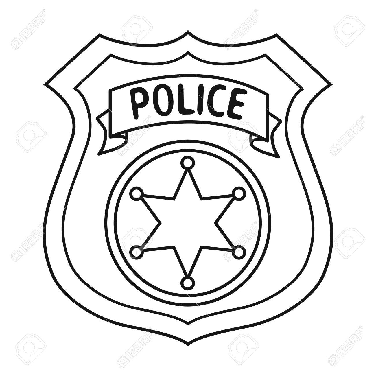 Polouse Badge Clipart