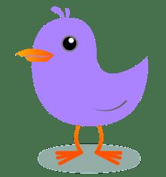 1111x1101 bird clipart purple [ 1111 x 1101 Pixel ]