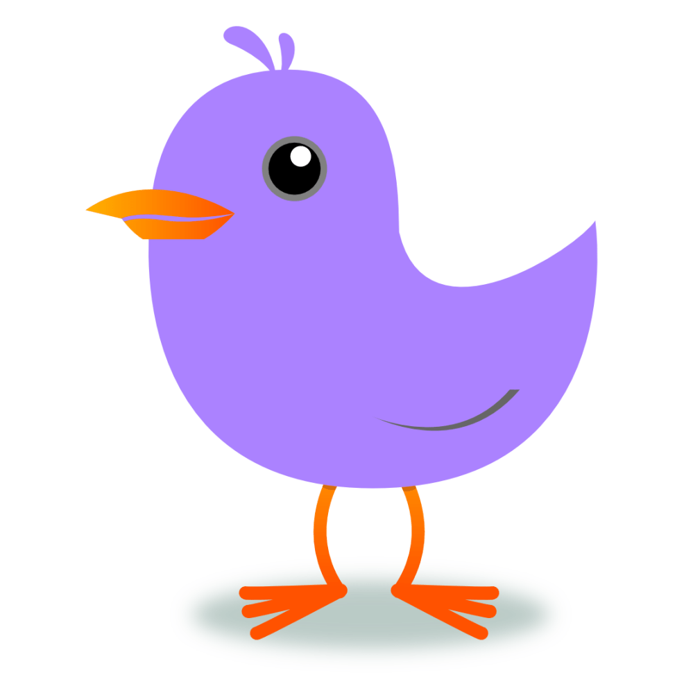 medium resolution of 1111x1101 bird clipart purple