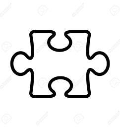 1300x1300 puzzle clipart line [ 1300 x 1300 Pixel ]