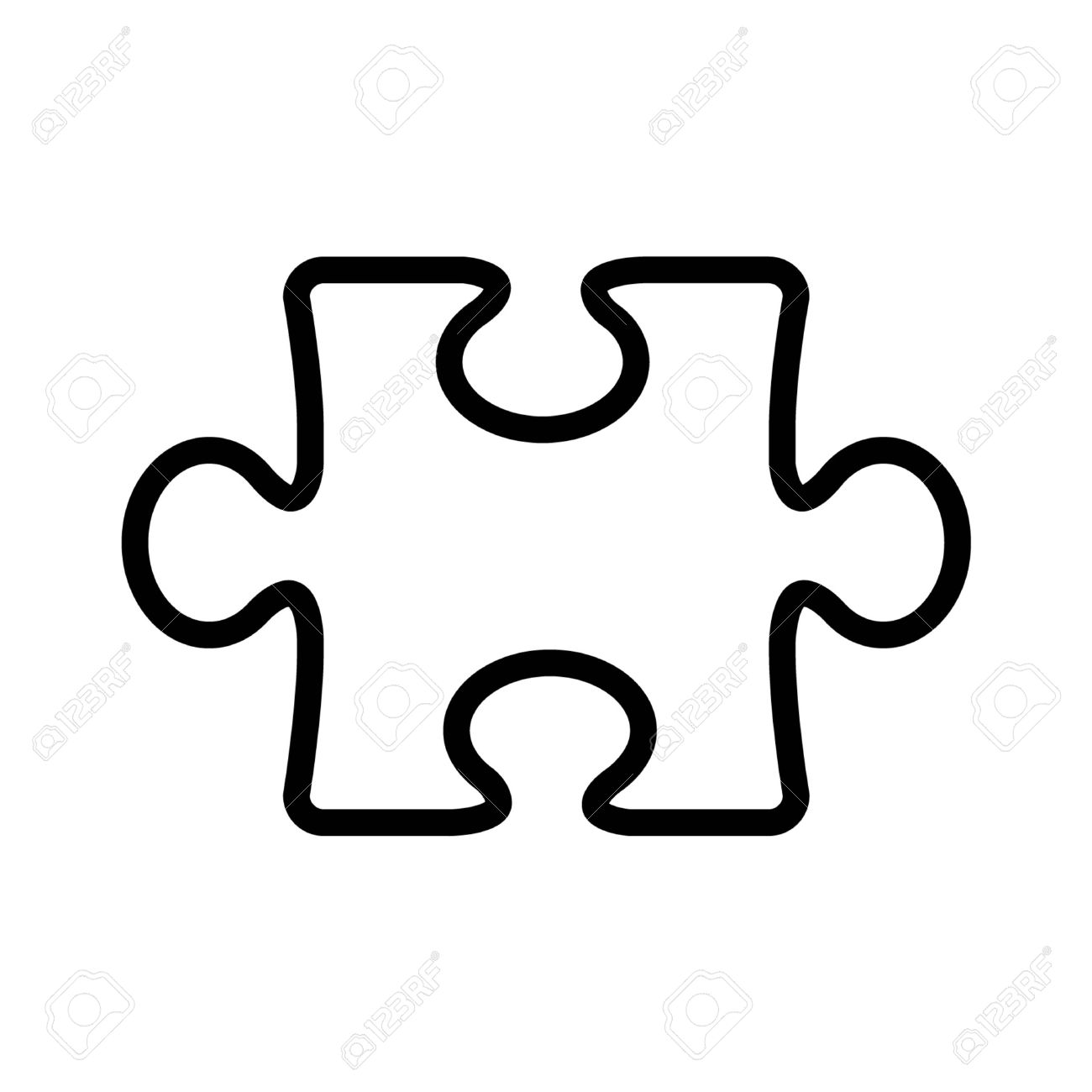hight resolution of 1300x1300 puzzle clipart line