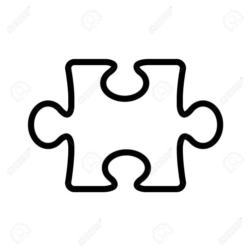 small resolution of 1300x1300 puzzle clipart line