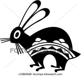 native american clipart rabbit coelhinho coelhinhos coelho clip pottery bunny mimbres sudoeste southwest clipartmag coney fotosearch simpson sid