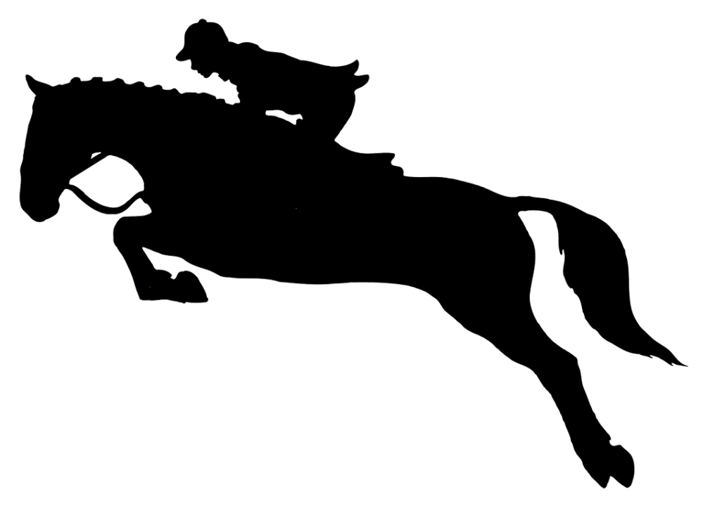 medium resolution of 1063x784 jumping horse silhouette clipart cliparthut free clipart sewing