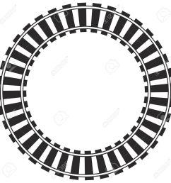 1300x1300 railroad clipart circle [ 1300 x 1300 Pixel ]
