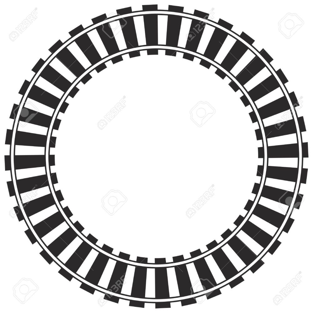 medium resolution of 1300x1300 railroad clipart circle