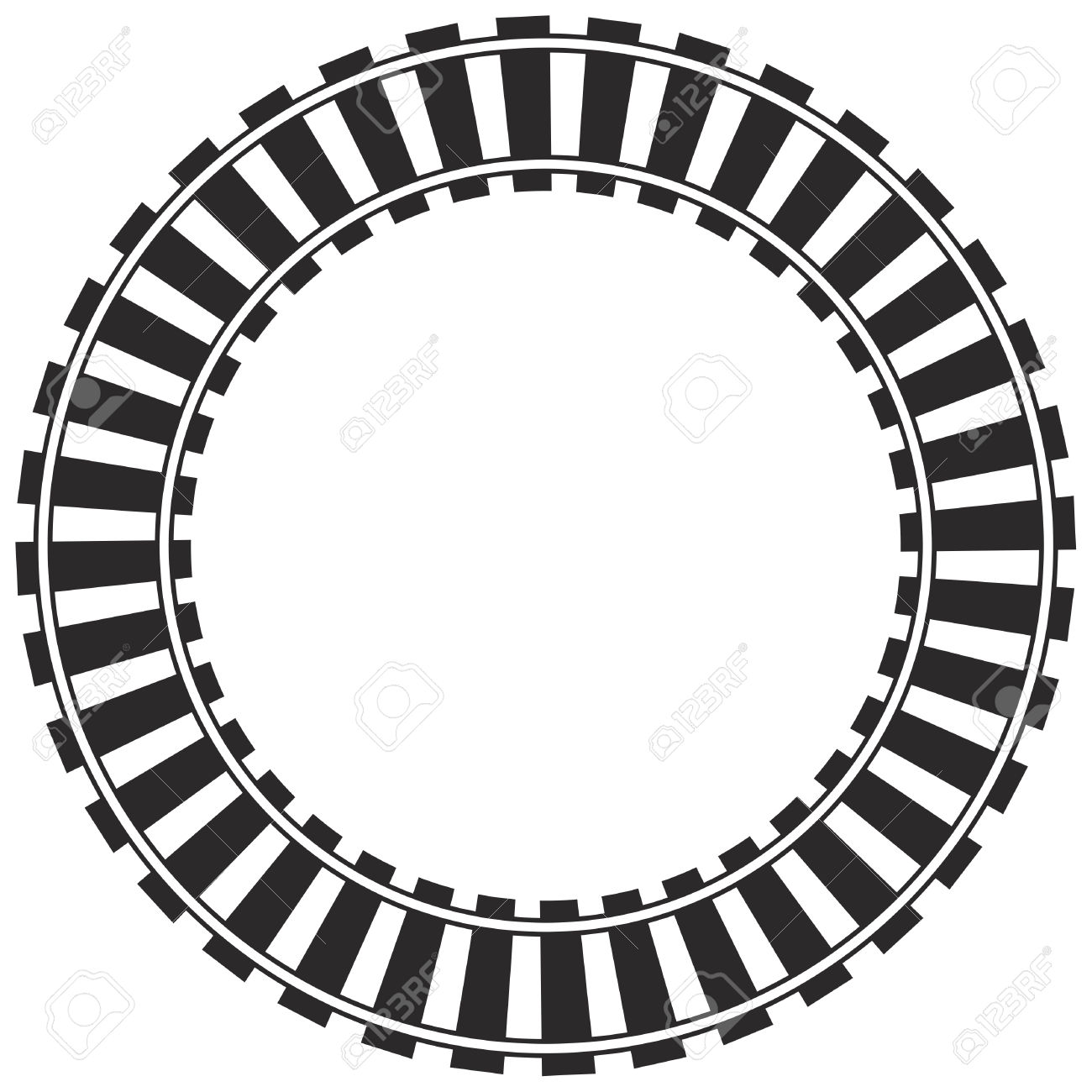 hight resolution of 1300x1300 railroad clipart circle