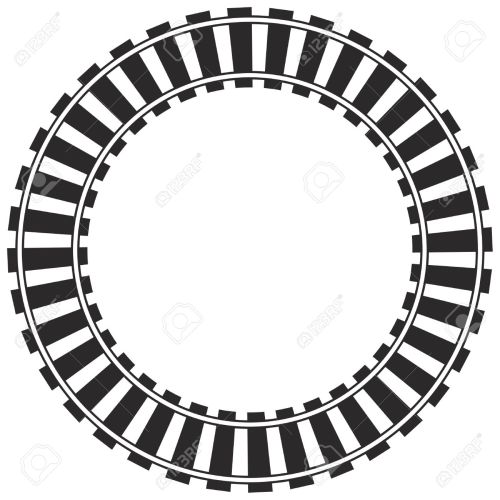 small resolution of 1300x1300 railroad clipart circle