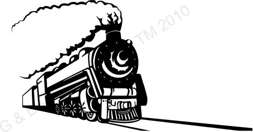small resolution of 1500x785 vintage train train tracks train on tracks vinyl wall