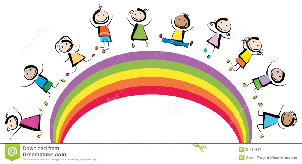 medium resolution of 1300x708 rainbow clipart happy rainbow