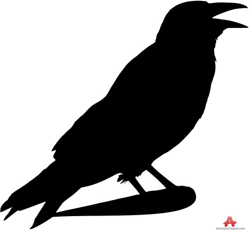 small resolution of 999x933 crow outline clip art at taco zone valve wiring diagram
