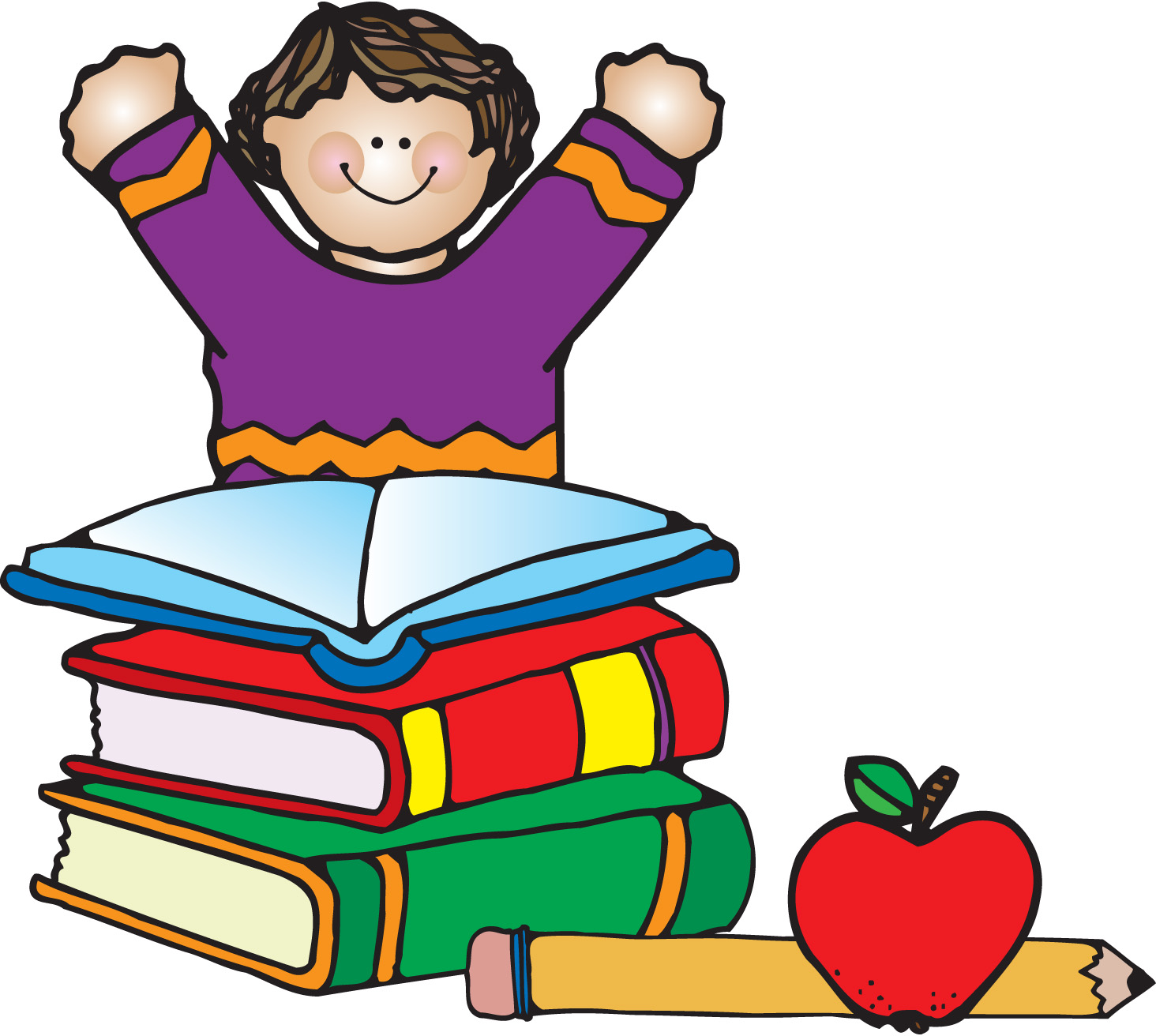 Reading Words Clipart
