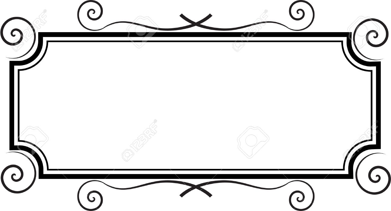 hight resolution of 1300x703 rectangle frame royalty free cliparts vectors and stock