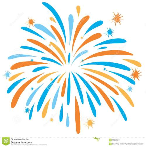small resolution of 1300x1316 fireworks clipart orange