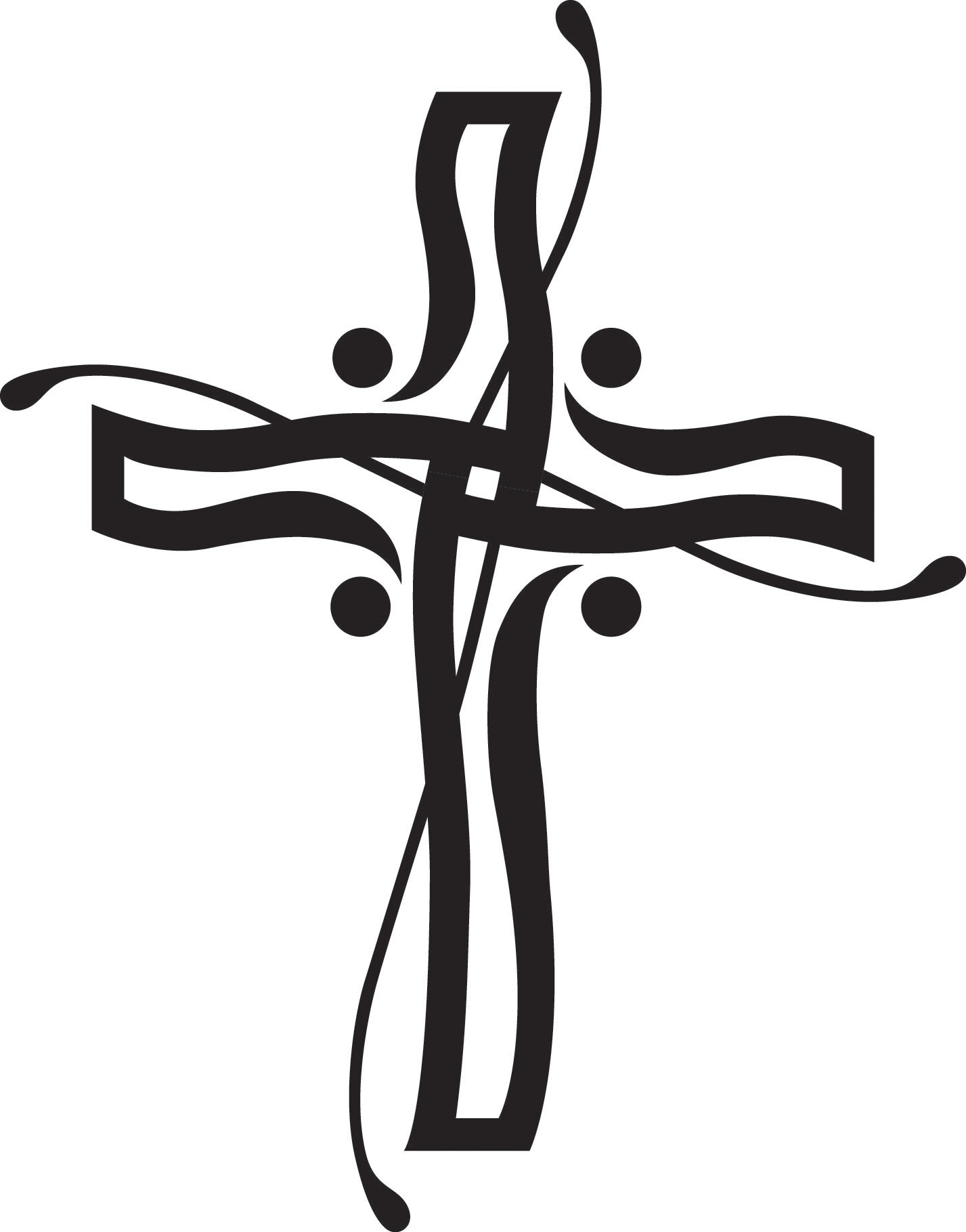 Religious Page Borders Clipart