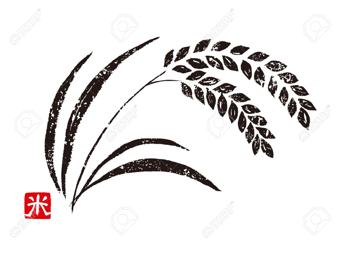 hight resolution of 1300x975 rice clipart rice crop