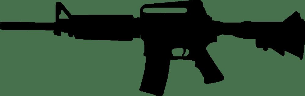 medium resolution of 2400x757 assault rifle clipart custom