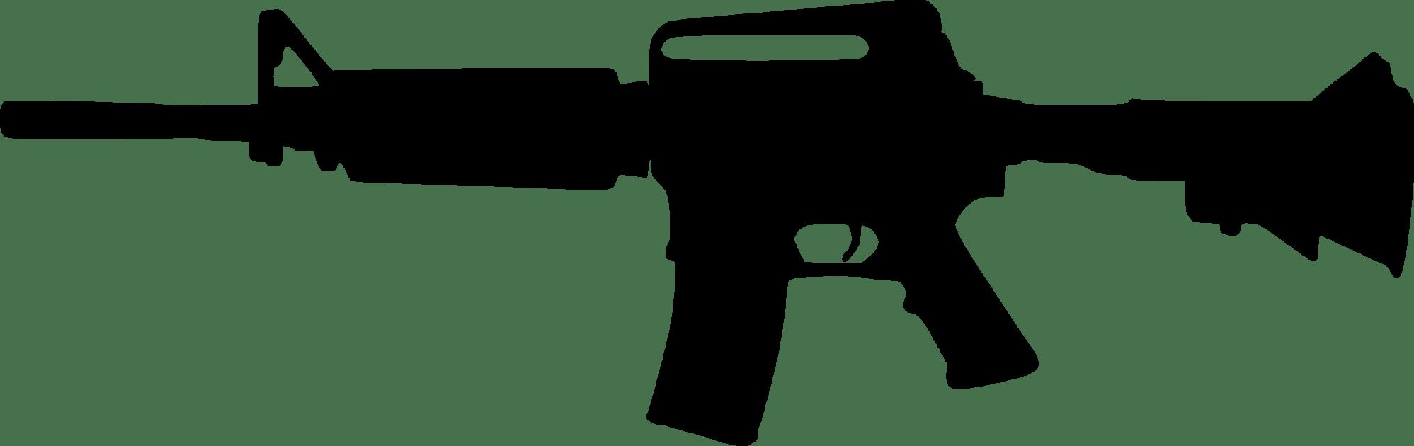 hight resolution of 2400x757 assault rifle clipart custom