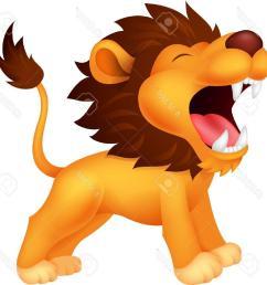 1254x1300 unique lion cartoon roaring stock vector drawing file free [ 1254 x 1300 Pixel ]