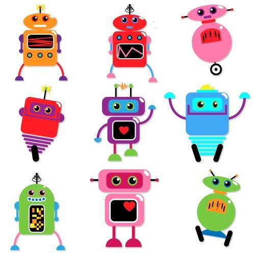 small resolution of 1000x1000 robots clip art clipart retro robot party clipart clip art