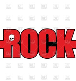 1200x823 letters with hands rock and roll sign logo for rock festival [ 1200 x 823 Pixel ]