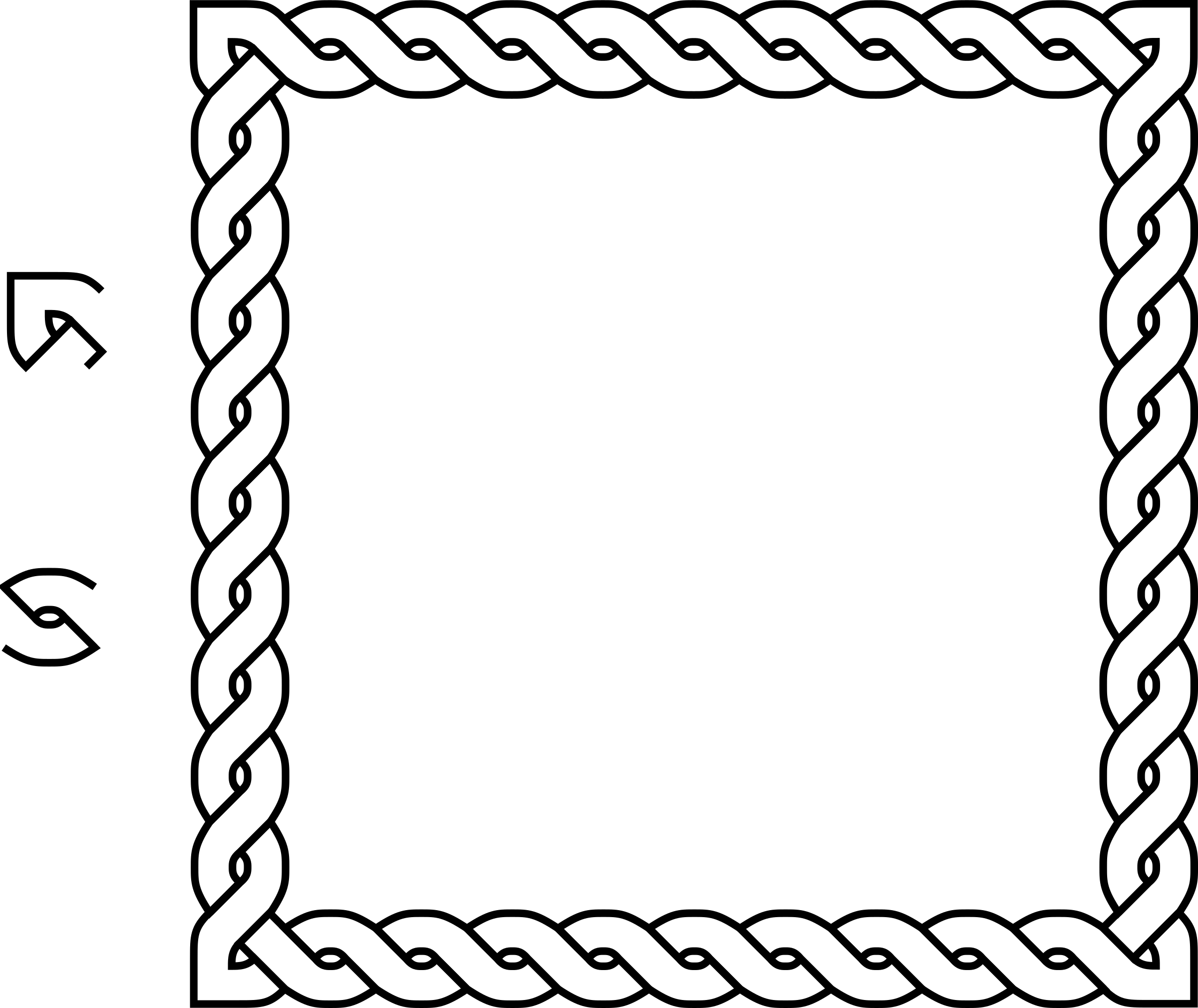 Rope Border Clipart