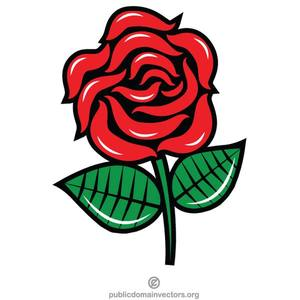 Rote Rose Clipart  Free download best Rote Rose Clipart