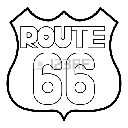 Route 66 Coloring Pages Coloring Pages