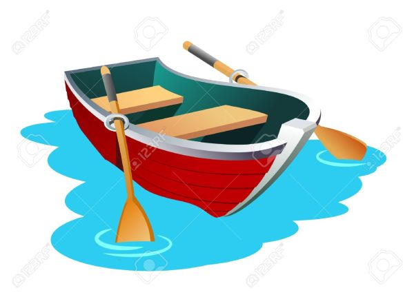 Rowing Boat Clipart Free