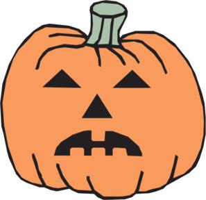 sad pumpkin clipart free
