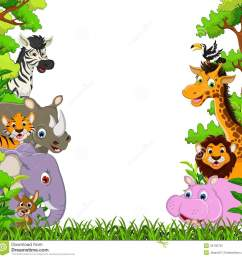 1300x1300 image for free jungle animal clipart cartoon images cute animal [ 1300 x 1300 Pixel ]