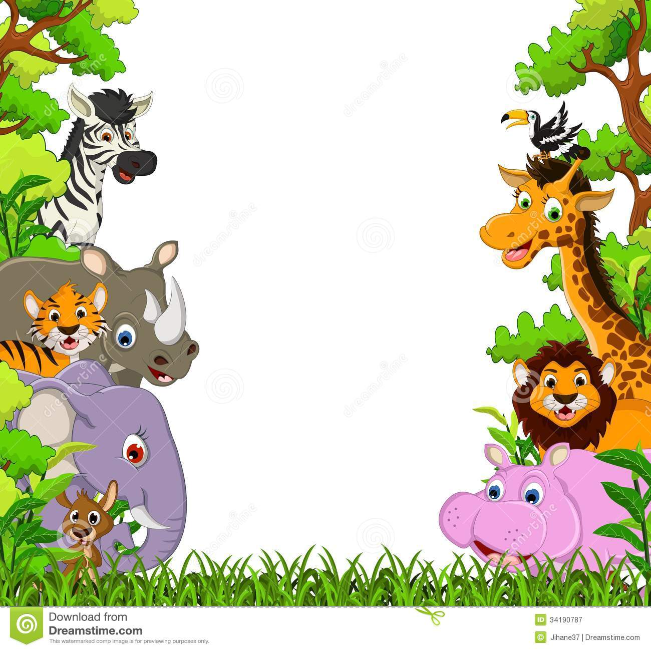 hight resolution of 1300x1300 image for free jungle animal clipart cartoon images cute animal
