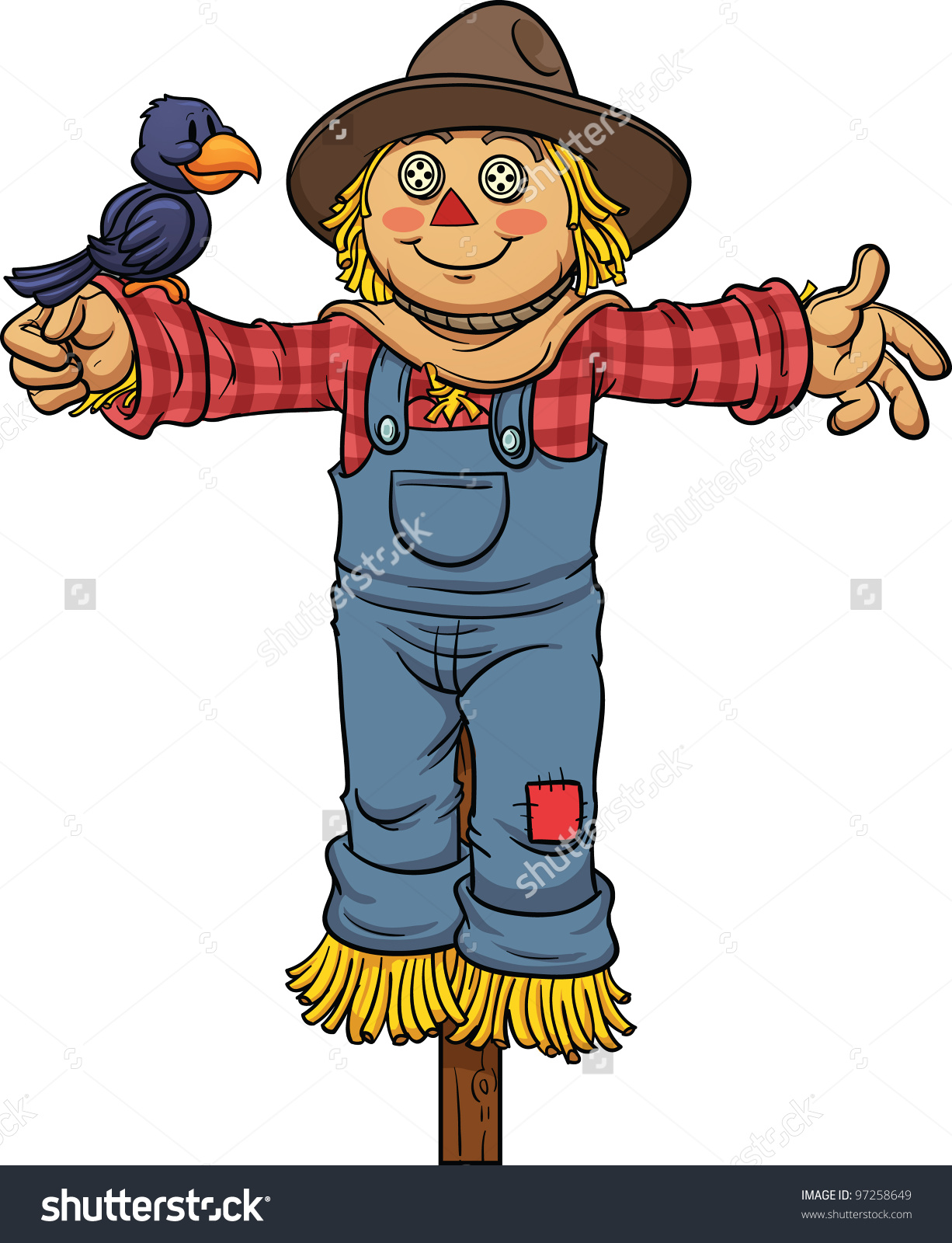 hight resolution of 1226x1600 cartoon scarecrow clipart explore pictures