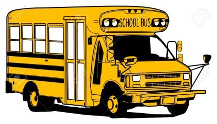 bus cartoon drawing drawings cartoons draw clipartmag getdrawings