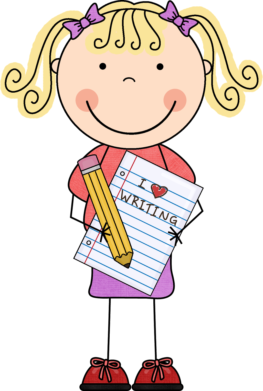 hight resolution of 1077x1600 school writing clipart