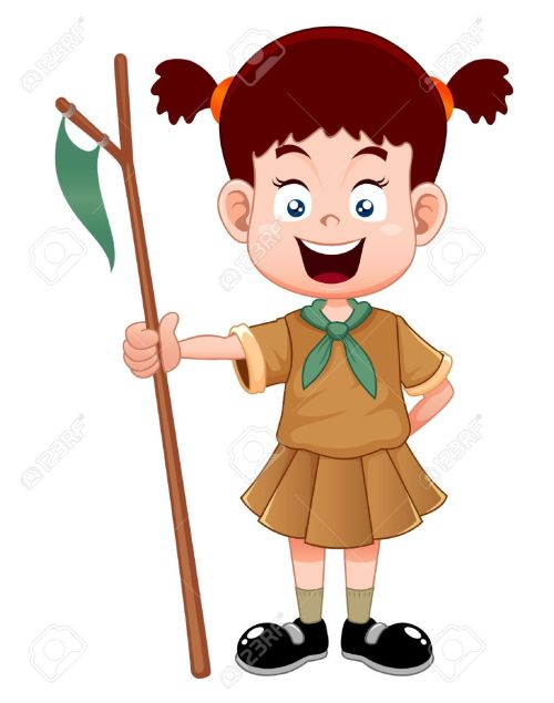 small resolution of 1023x1300 girl scout uniform clipart